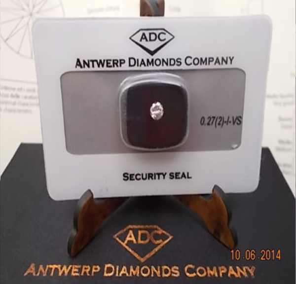 Diamante 0,27(2)-I-VS €752,00