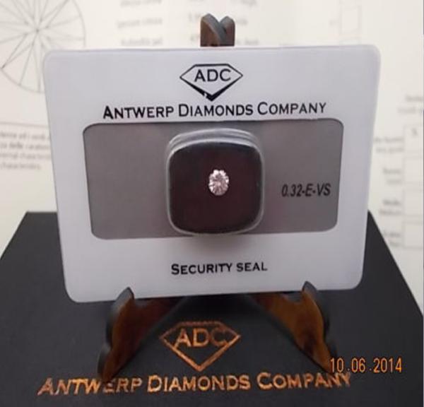 Diamante 0,32-E-VS €1289,00
