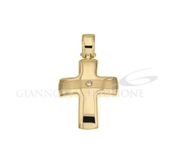 803321708791 Croce scatolata con brillantino gr 3,60 179,00