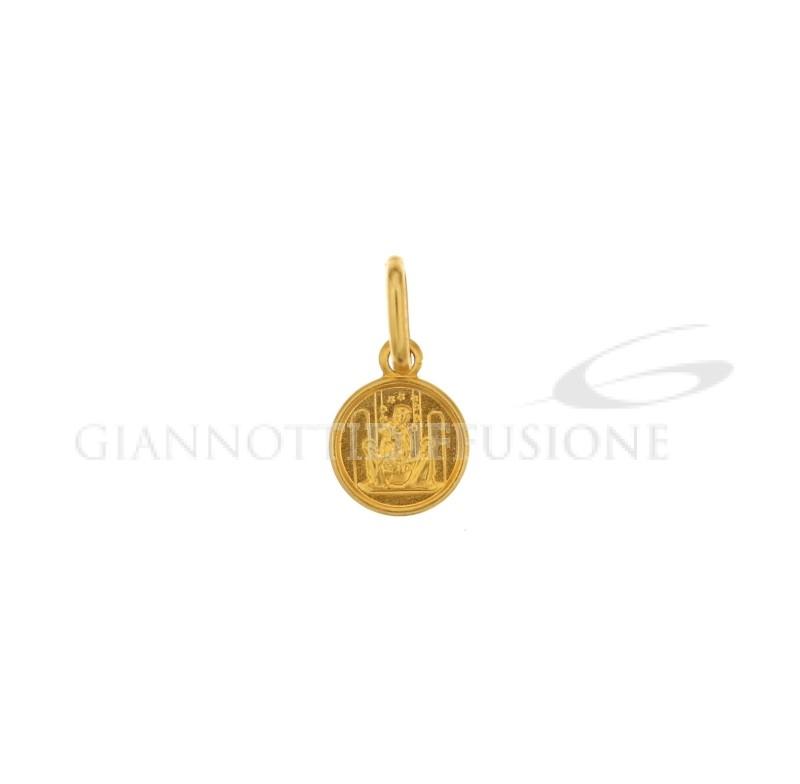 Gioielleria Verderame   Medaglia coniata in oro giallo 750