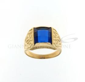 803321715370 Anello con pietra blue gr 9,50 €399,00