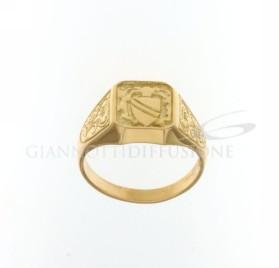 803321715373 Anello a scudo gr 7,30 €309,00