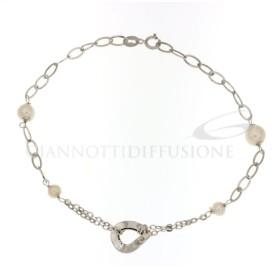 803321719017 Bracciale a catena con perle gr 1,60 €76.00