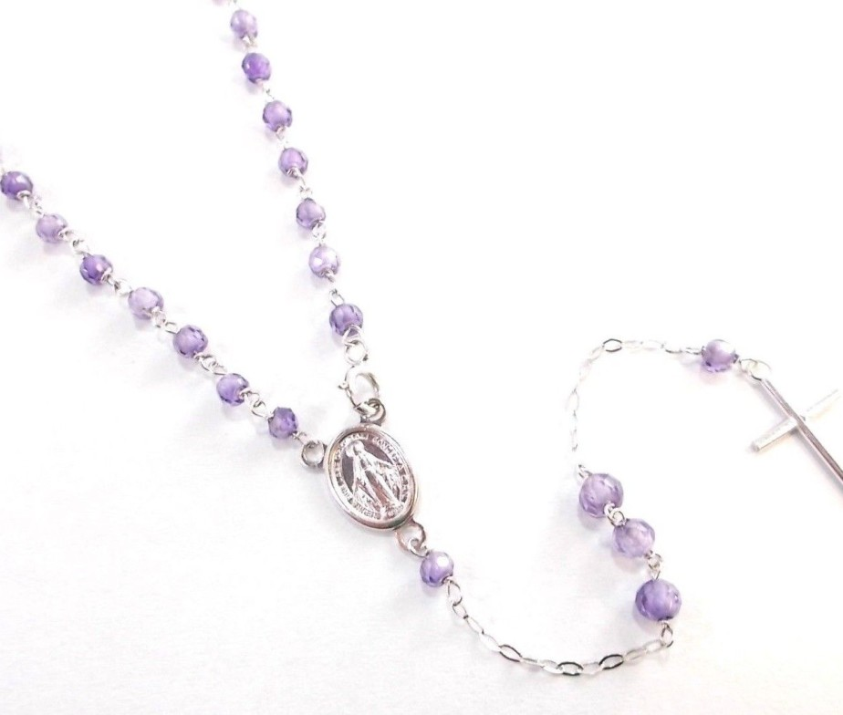 26b5b404e8fbab Gioielleria Verderame | Nostra produzione girocollo del rosario in ...