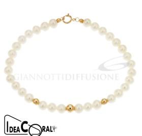 ICBR00001 bracciale perla d'acqua dolce