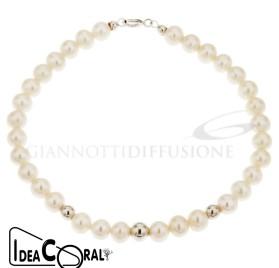 ICBR00002 bracciale di perla d'acqua dolce
