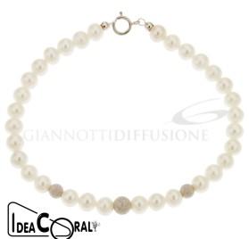 ICBR00004 bracciale di perla d'acqua dolce