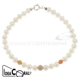 ICBR00005 Bracciale perla d'acqua dolce