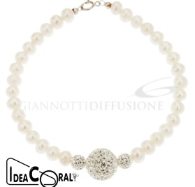 ICBR00020 Bracciale perla d'acqua dolce