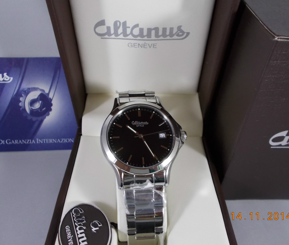 vendita calda online c893d d1b04 Gioielleria Verderame | ALTANUS OROLOGIO DA UOMO CINTURINO ...