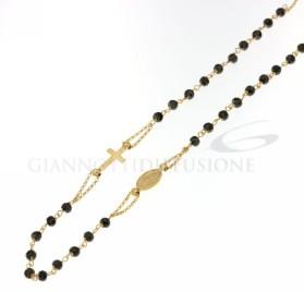803321716837 Girocollo rosario, 45cm GR 5 ,80